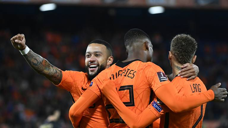 An image that illustrates this article Depay extends fine form as Netherlands crush Gibraltar: World Cup round-up