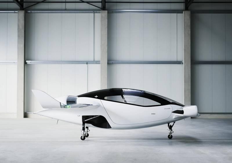 Lilium jet. Courtesy Lilium GmbH