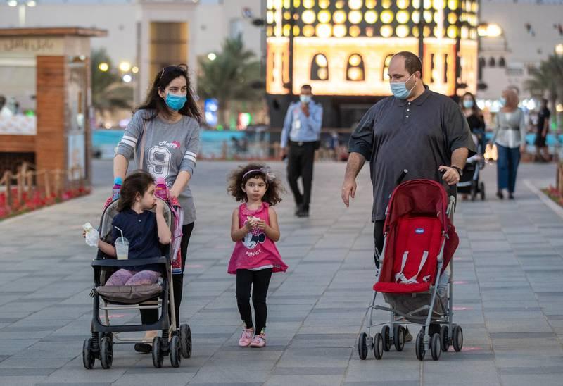 Abu Dhabi, United Arab Emirates, November 23, 2020.   Sheikh Zayed Heritage Festival celebrations at Al Wathba.Victor Besa/The NationalReporter:  Samia BadihSection:  NAFor:  Standalone/Stock