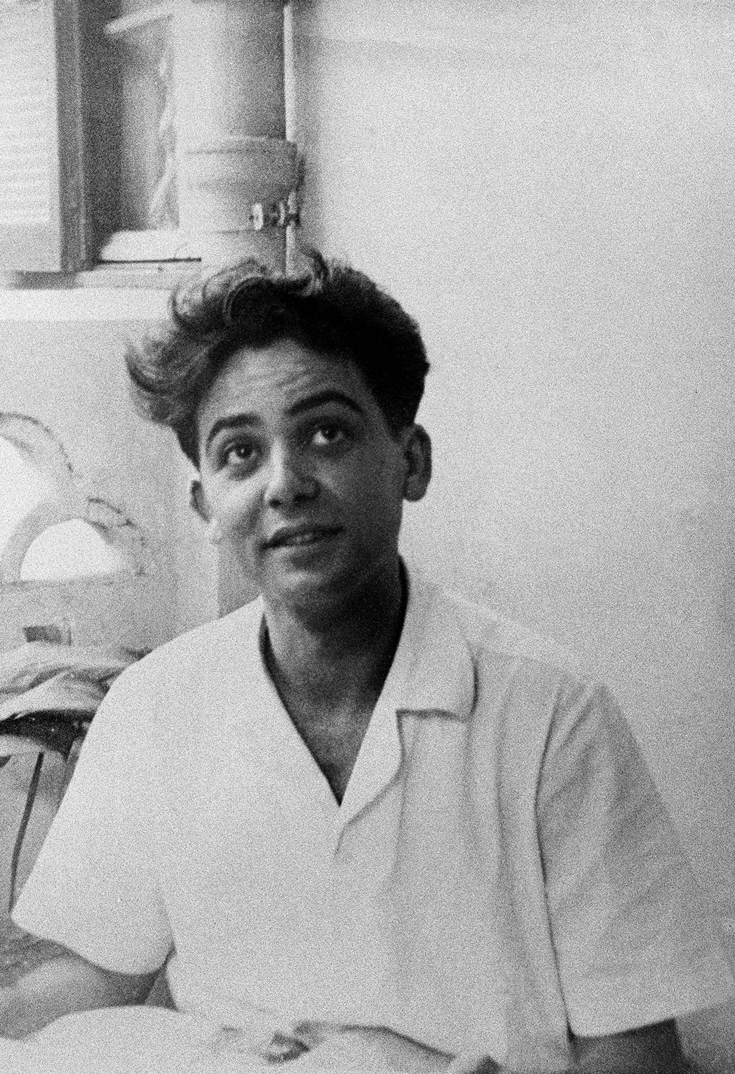(FILES) This file photo taken circa 1950 shows Maurice Audin, a mathmatics assistant-teacher at the Alger university and member of the Algerian communist party, who went missing after being arrested on June 11, 1957, allegedly by French paratroopers under the command of General Jacques Massu during the Algerian War. - French President Emmanuel Macron will recognize the responsibility of the French state in the death of Maurice Audin, French mathematician and LREM member of Parliament Cedric Villani said on September 13, 2018. (Photo by STF / AFP)