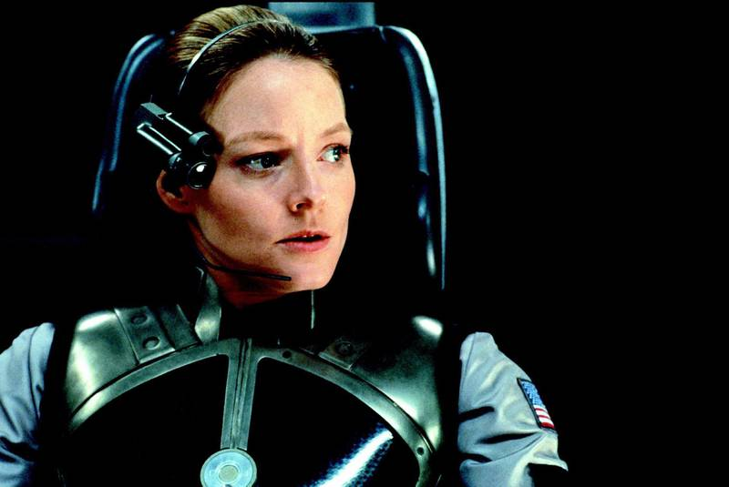 Jodie Foster in Contact. Courtesy Warner Bros.