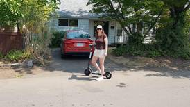On the move: hitching a ride to the future on an e-scooter