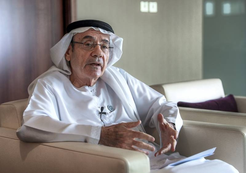 Abu Dhabi, U.A.E., June 27, 2018. The Office of Public and Cultural Diplomacy will be launched by Minister of State Zaki Nusseibeh at the end of this month. This is an exclusive interview on the launch.Victor Besa / The NationalSection:  NAReporter:  Anna Zacharias