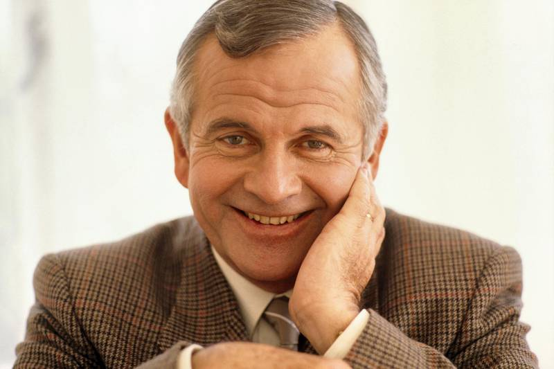 English Actor Ian Holm (Photo by Etienne CHOGNARD/Sygma via Getty Images)