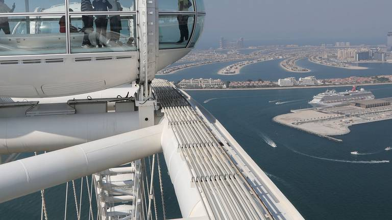 An image that illustrates this article Inside Ain Dubai - the world's largest and tallest observation wheel now open to public