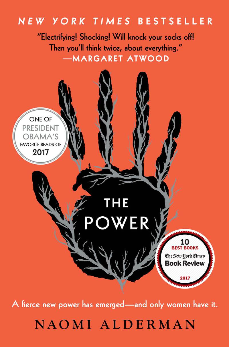 The Power by Naomi Alderman. Courtesy Little, Brown