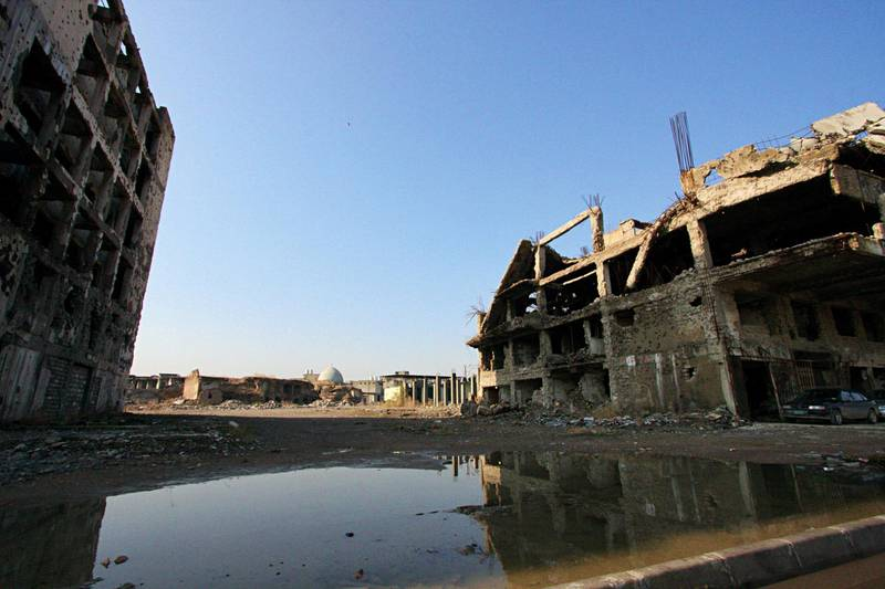 IRAQ-MOSUL_S TWO GOVERNORS-PICTURED-Mosul residents have lost faith in the authorities amid corruption scandals and a lack of action to rebuild the city. Charlie Faulkner for The National