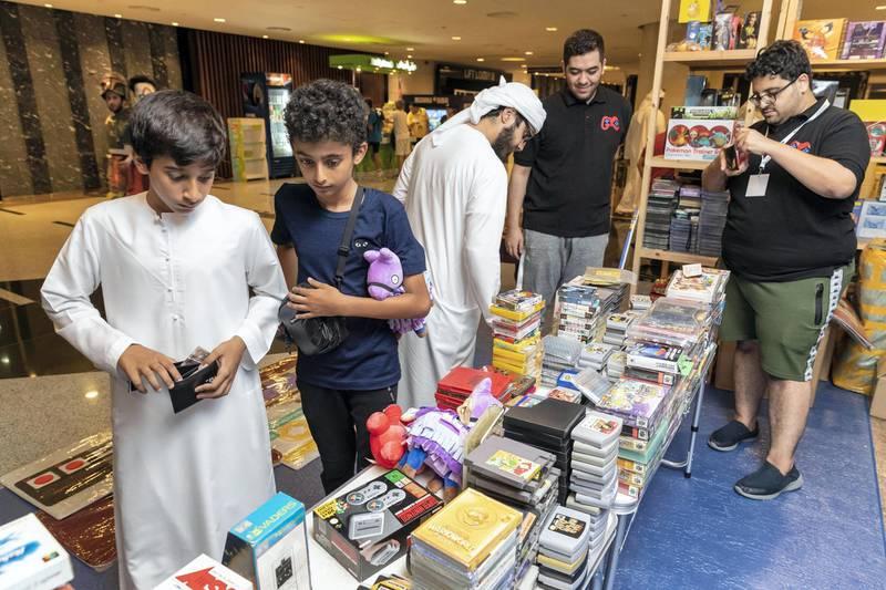 DUBAI, UNITED ARAB EMIRATES. 17 OCTOBER 2019. INSOMNIA Dubai, the region's largest gaming festival held at Meydan. (Photo: Antonie Robertson/The National) Journalist: None. Section: National.