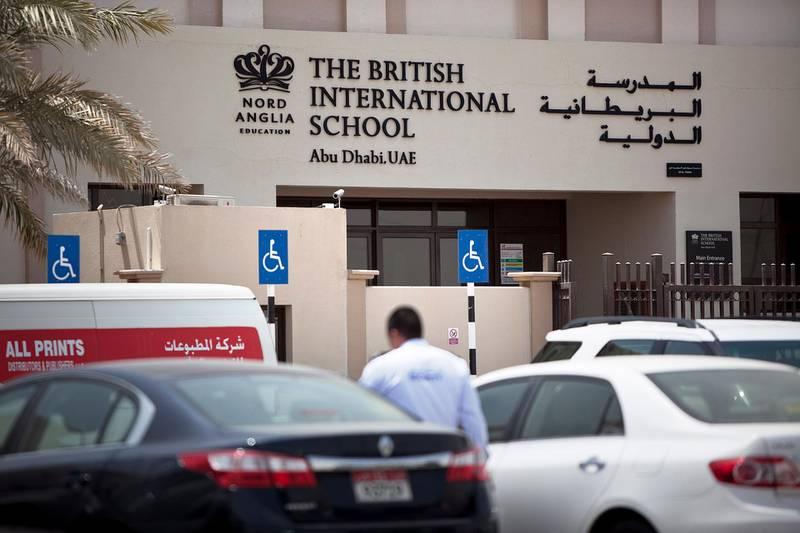 Abu Dhabi, United Arab Emirates, Sept. 1, 2013   :    The British International School Abu Dhabi exterior. Silvia Razgova / The National       *** Local Caption ***  sr-130901-britishintnlsch063.jpg
