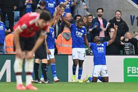 Leicester end Manchester United's unbeaten away record after six-goal thriller
