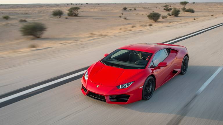 An image that illustrates this article Lamborghini confiscated after driver caught at 236kph