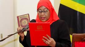 Tanzania swears in Samia Suluhu Hassan as first female president