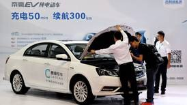 China plans to merge electric vehicle companies in its fragmented market