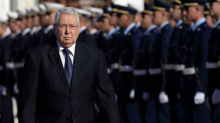An image that illustrates this article Algeria's ex-interim president Abdelkader Bensalah dies at 79