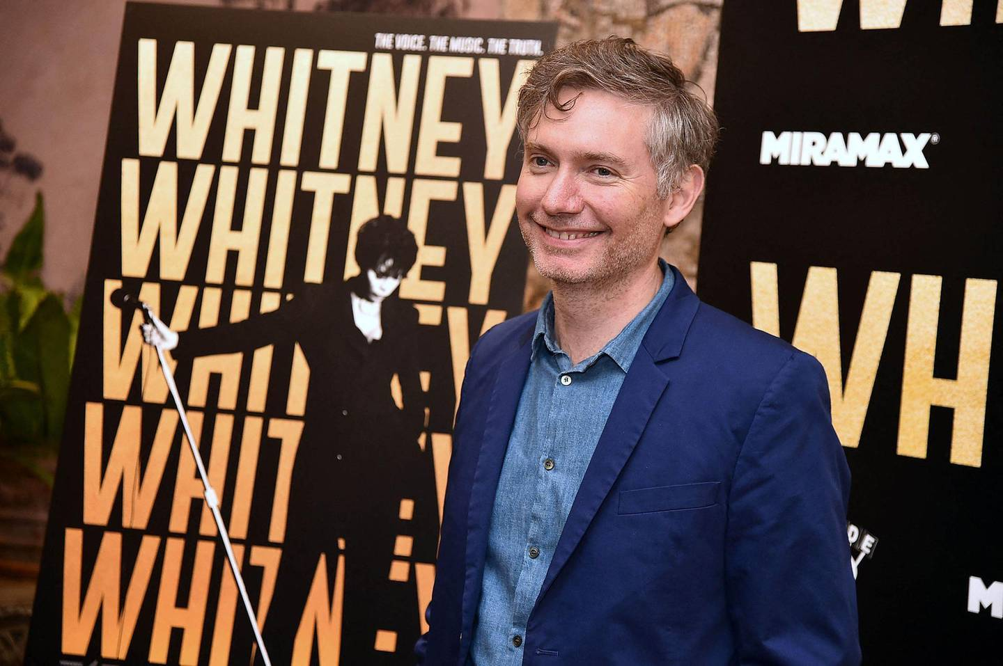 """NEW YORK, NY - JUNE 27: Director Kevin MacDonald attends the """"Whitney"""" New York Screening at the Whitby Hotel on June 27, 2018 in New York City.   Theo Wargo/Getty Images/AFP (Photo by Theo Wargo / GETTY IMAGES NORTH AMERICA / AFP)"""