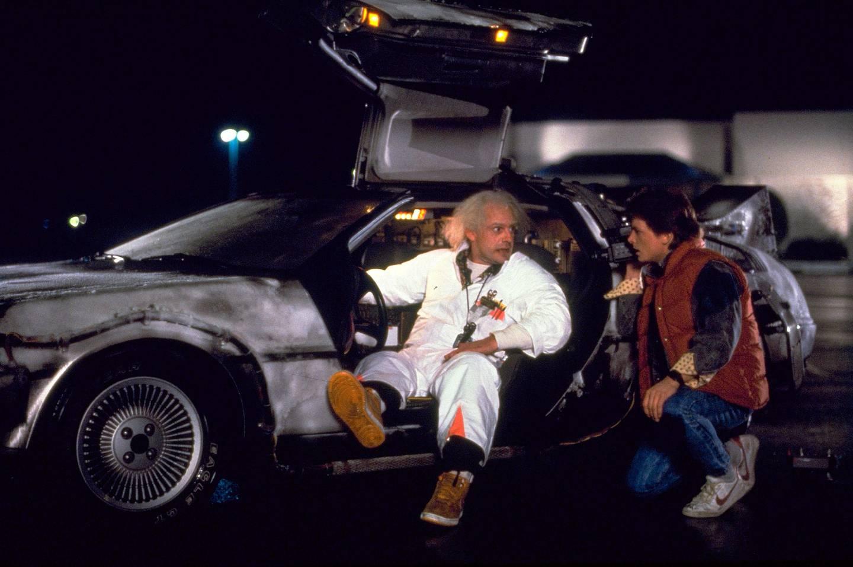 RWDXY9 LLOYD,FOX, BACK TO THE FUTURE, 1985. Alamy