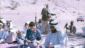 Rare photos of Sheikh Zayed in archive acquired by Abu Dhabi university