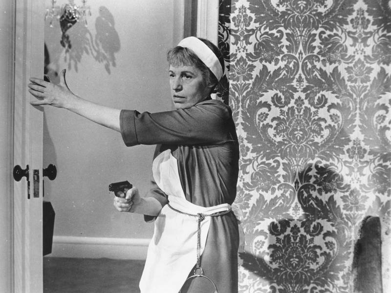 Lotte Lenya in a scene from the film 'From Russia With Love', 1964. Courtesy United Artists