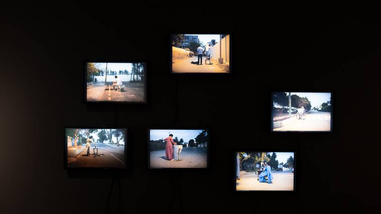 An image that illustrates this article How Pakistani artist Bani Abidi's new US show represents the Global South