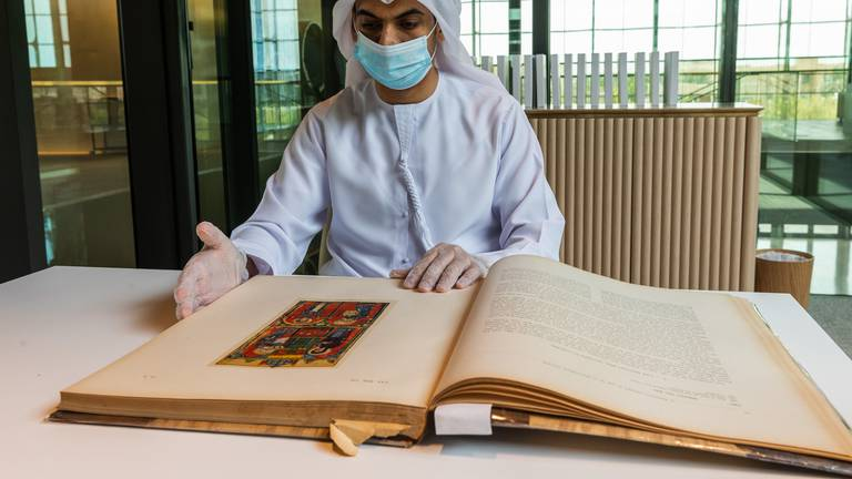 An image that illustrates this article Sharjah Ruler donates 12,000 rare books on Islamic art and architecture