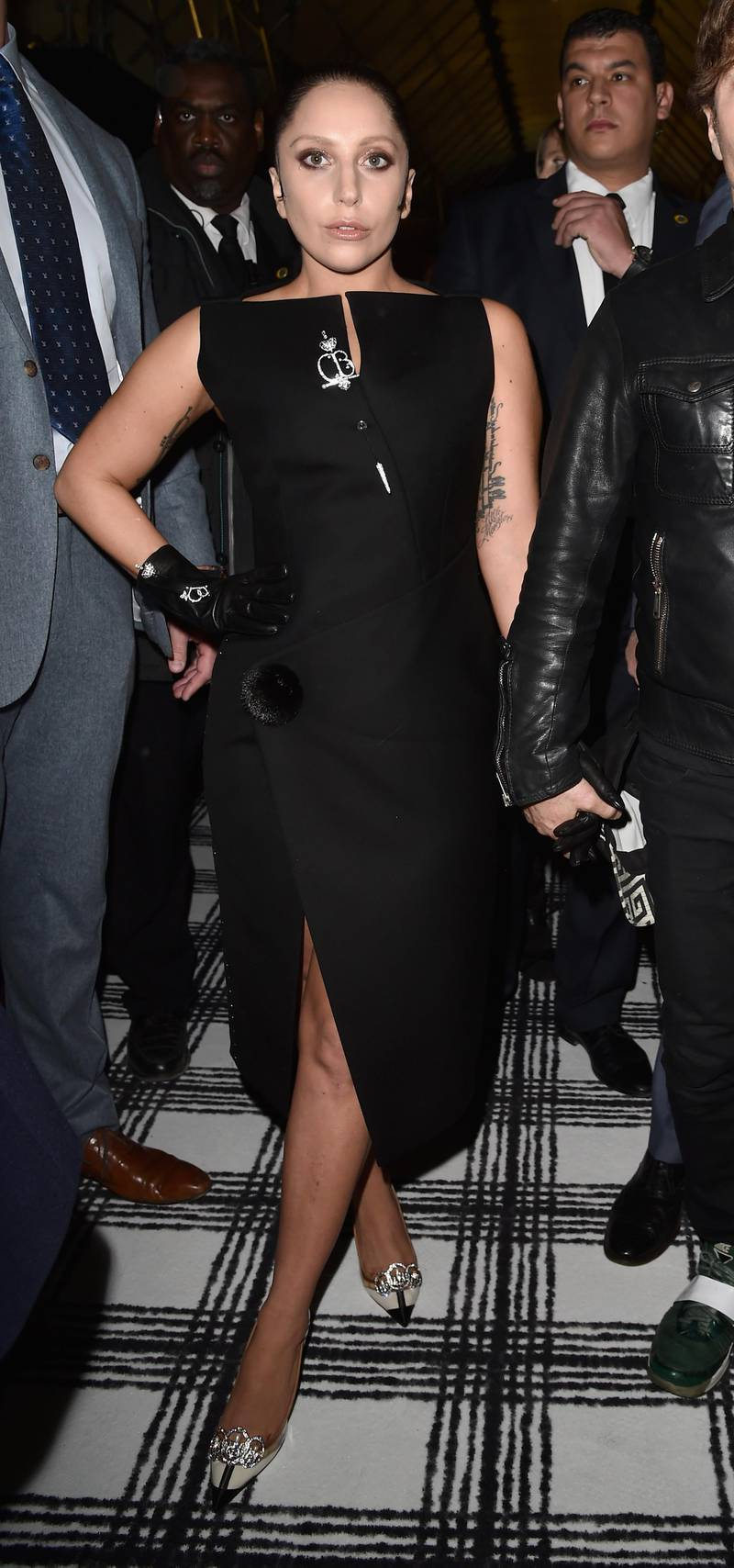 PARIS, FRANCE - MARCH 06:  Lady Gaga attends the Balenciaga show as part of the Paris Fashion Week Womenswear Fall/Winter 2015/2016  on March 6, 2015 in Paris, France.  (Photo by Pascal Le Segretain/Getty Images)