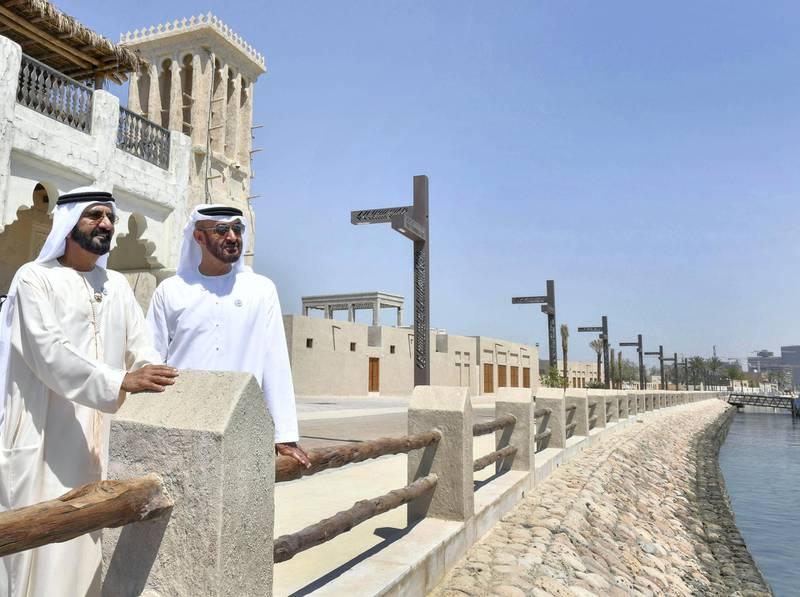 Mohammed bin Rashid and Mohammed bin Zayed sign a strategic partnership between Aldar and Emaar