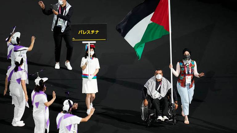 An image that illustrates this article Paralympics: Azzam hopes to become inspiration for Palestinians