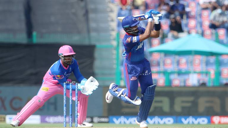 An image that illustrates this article IPL 2021: Delhi overpower Rajasthan to move to top of the table