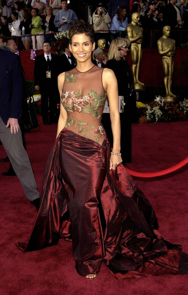 Halle Berry at the Kodak Theater in Hollywood, California (Photo by Steve Granitz/WireImage)