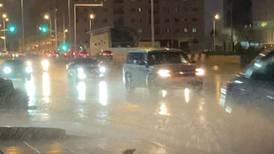 Unusual weather in Saudi Arabia
