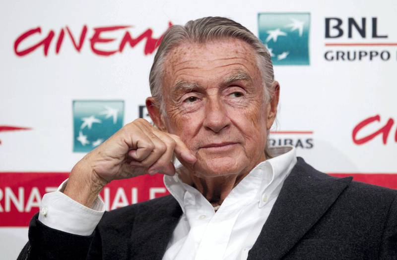 epa08502691 (FILE) - US director Joel Schumacher poses during a photocall at the 6th annual Rome Film Festival, in Rome, Italy, 03 November 2011  (reissued 22 June 2020). According to media reports, Joel Schumacher has died aged 80 on 22 June 2020.  EPA-EFE/CLAUDIO PERI *** Local Caption *** 56169800
