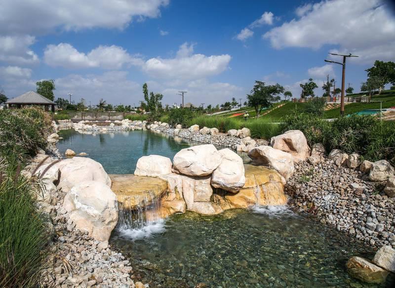 December 12, 2017.   Dubai Safari, Al Awir Road.  Media tour of the Dubai Safari.  Dubai Safari picnic area. Victor Besa for The NationalNationalReporter:  Nick Webster