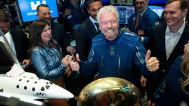 Richard Branson poised to beat Jeff Bezos in billionaire space race