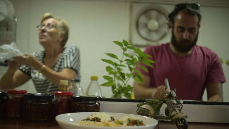 An image that illustrates this article Lebanese chef serves up community spirit with Italian food