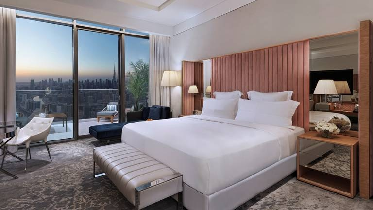 An image that illustrates this article Hotel Insider: A chic stay at SLS Dubai with some of the best views in the city