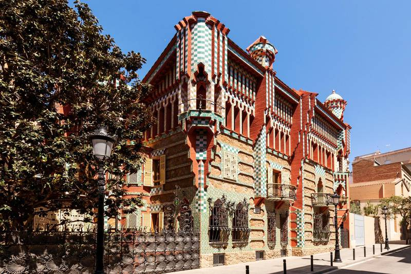 Casa Vicens. Photo: Airbnb