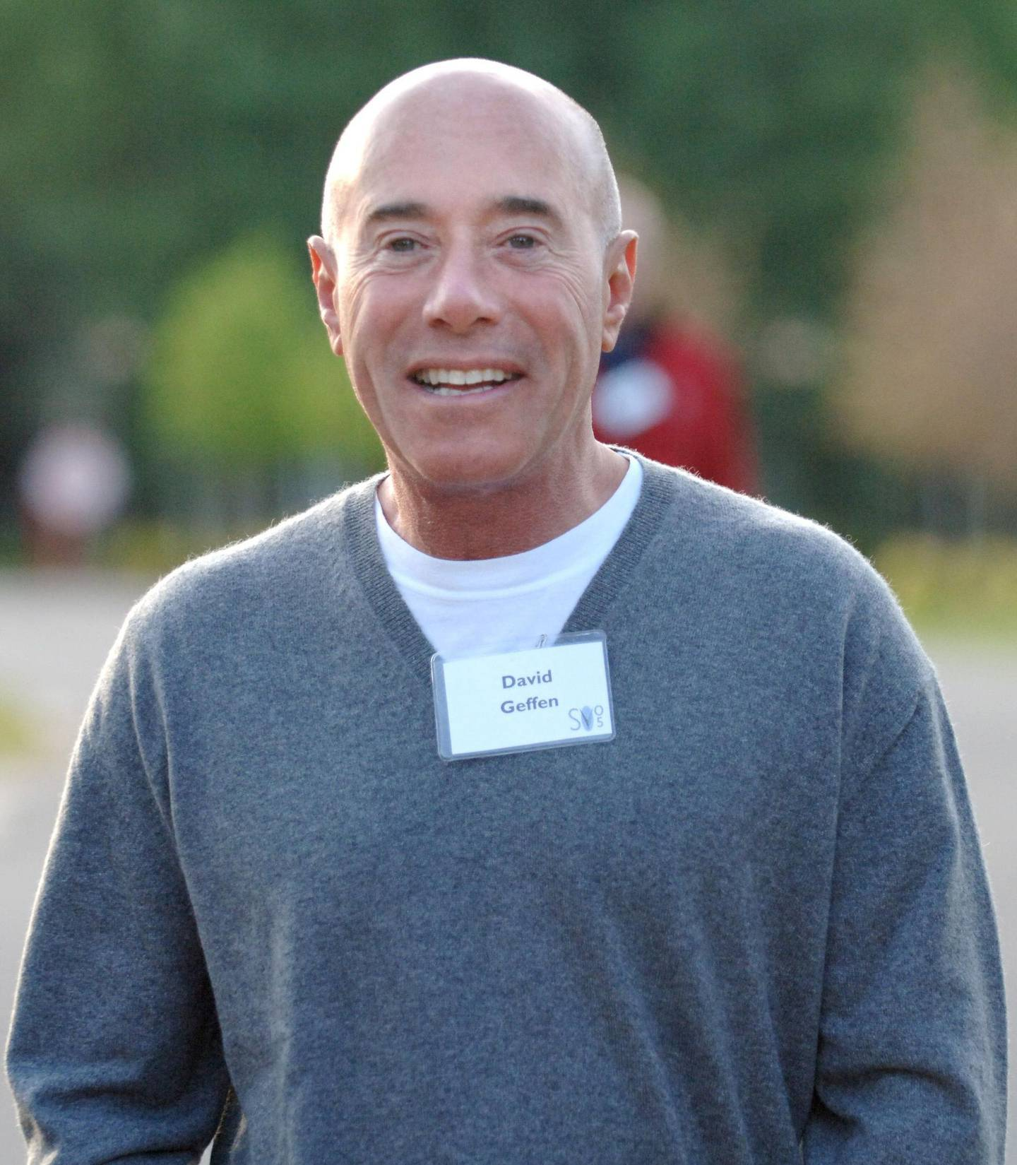 DreamWorks SKG co-founder and partner, David Geffen, walks to the Inn at the annual Allen and Company Media and Technology Conference Wednesday, July 7, 2005 in Sun Valley, Idaho. Photographer: Matthew Staver/Bloomberg News.