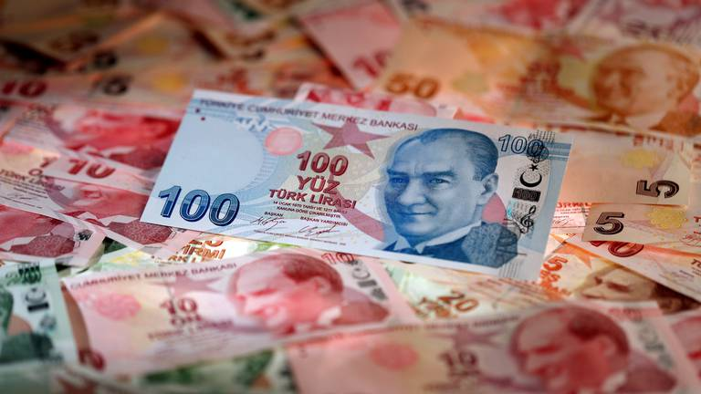 An image that illustrates this article Turkey's lira hits record low as three central bank deputy governors dismissed