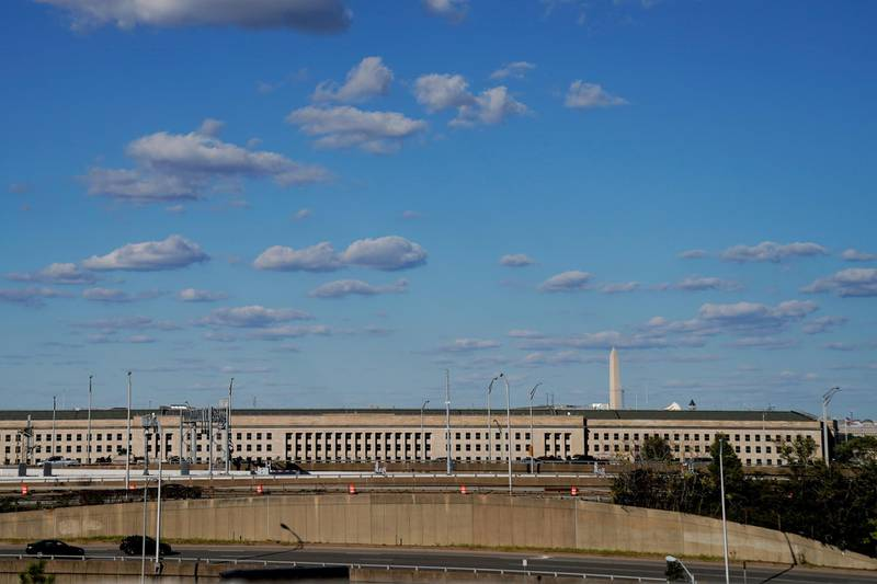 FILE PHOTO: The Pentagon building is seen in Arlington, Virginia, U.S. October 8, 2020. REUTERS/Erin Scott/File Photo