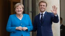 Macron and Merkel meet in Paris to discuss world's crises and EU issues