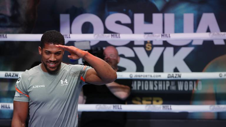An image that illustrates this article Anthony Joshua set for 'toughest ever fight' against Oleksandr Usyk