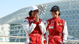 Al Qubaisi sisters on the fast track to the Abu Dhabi Grand Prix