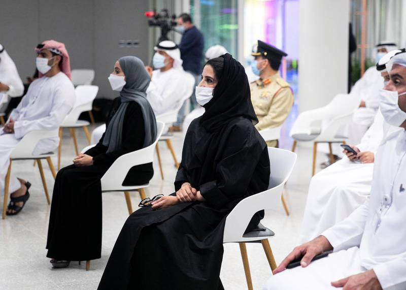 DUBAI, UNITED ARAB EMIRATES. 25 NOVEMBER 2020. Her Excellency Maryam Al Hammadi, SECRETARY GENERAL OF THE UAE CABINET at the Arab Government Excellence Award ceremony. (Photo: Reem Mohammed/The National)Reporter:Section: