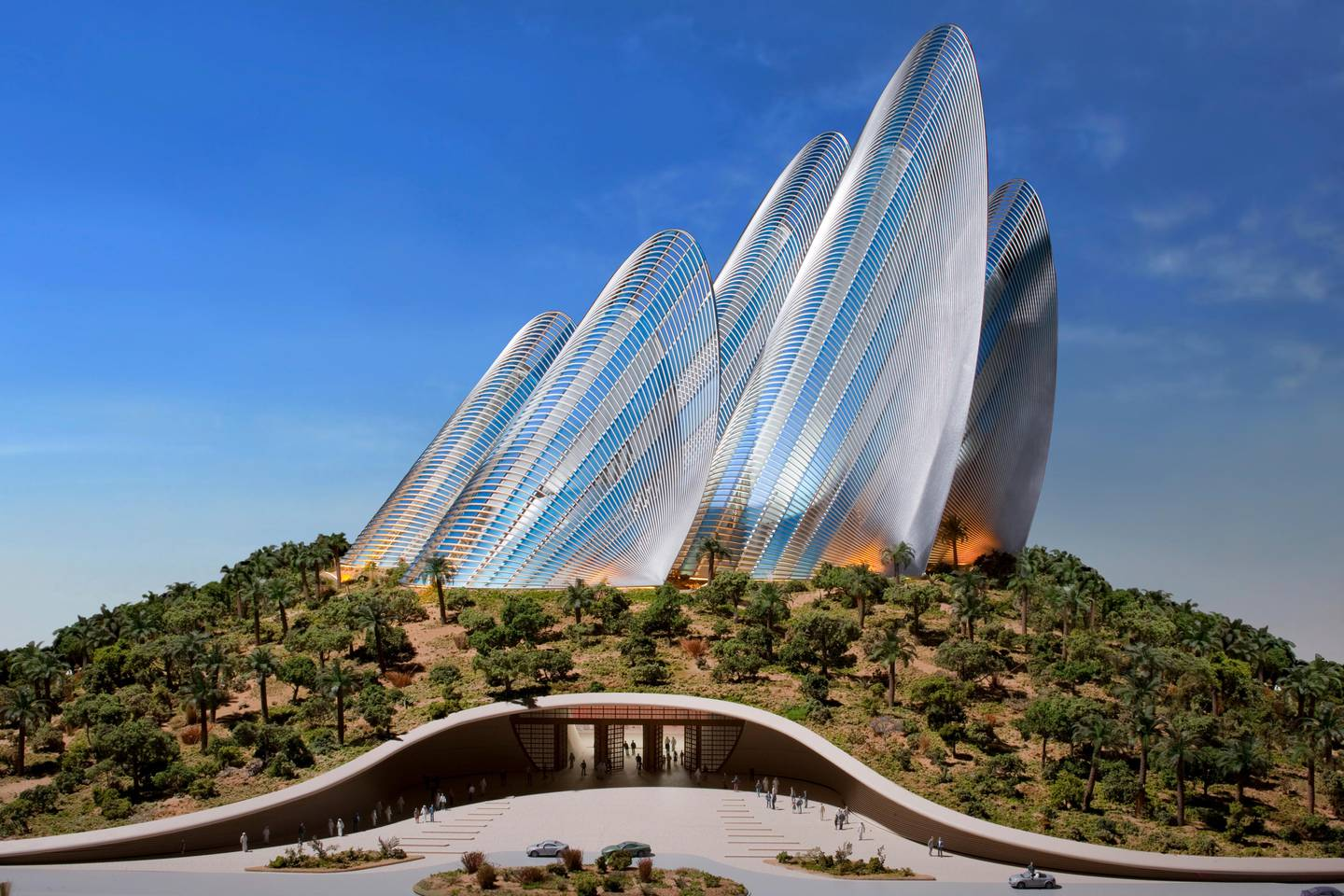 A handout rendering of Zayed National Museum by (Courtesy: TDIC) *** Local Caption ***  al15ja-museum-zayed.jpg