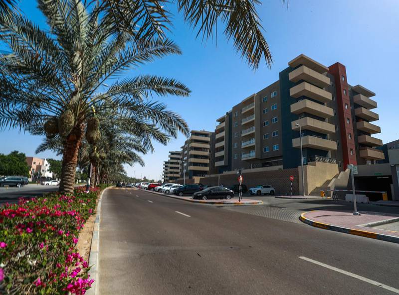 Abu Dhabi, U.A.E., June 13, 2018. Apartments  for rent at Al Reef Village.Victor Besa / The NationalReporter:  Section:  National