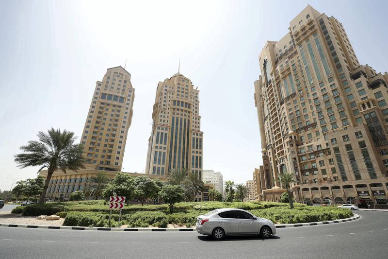 Dubai, United Arab Emirates - September 19, 2018: Dubai Silicon Oasis for the neighbourhood watch series. Wednesday, September 19th, 2018 at Silicon Oasis, Dubai. Chris Whiteoak / The National