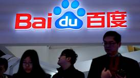 Baidu bumped from China's internet top-five list again