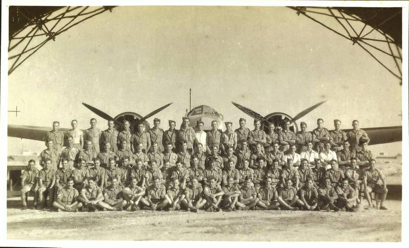 Photograph of RAF Sharjah taken by RAK airman C. J. Sainty, who served in Iraq and the Middle East during World War II. Courtesy Akkasah: Center for Photography, RAF in Iraq and Sharjah