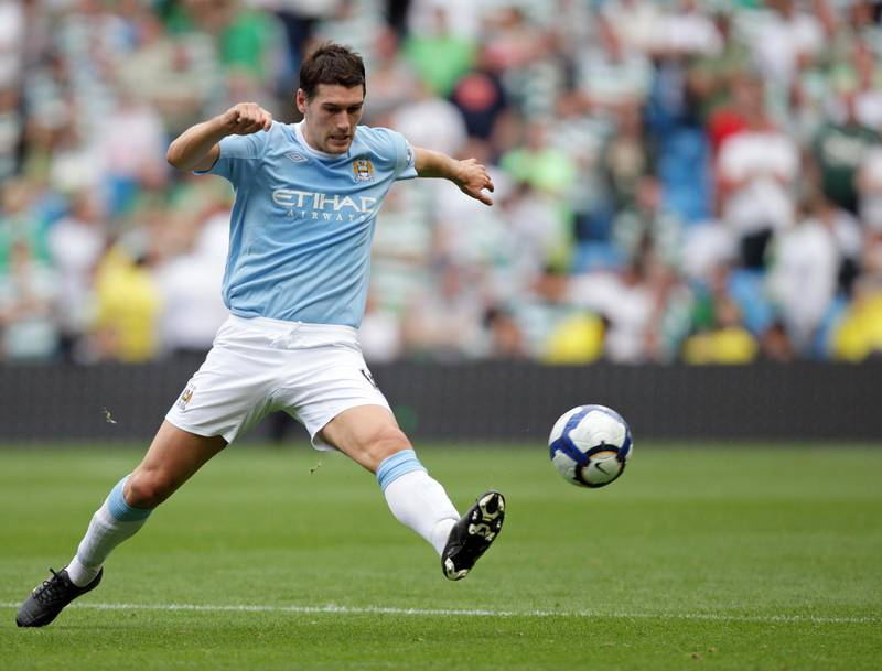 Gareth Barry of Manchester City (Photo by AMA/Corbis via Getty Images)