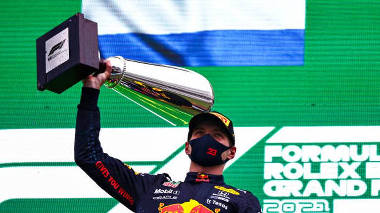 An image that illustrates this article Belgian GP abandoned due to rain as Verstappen is handed win